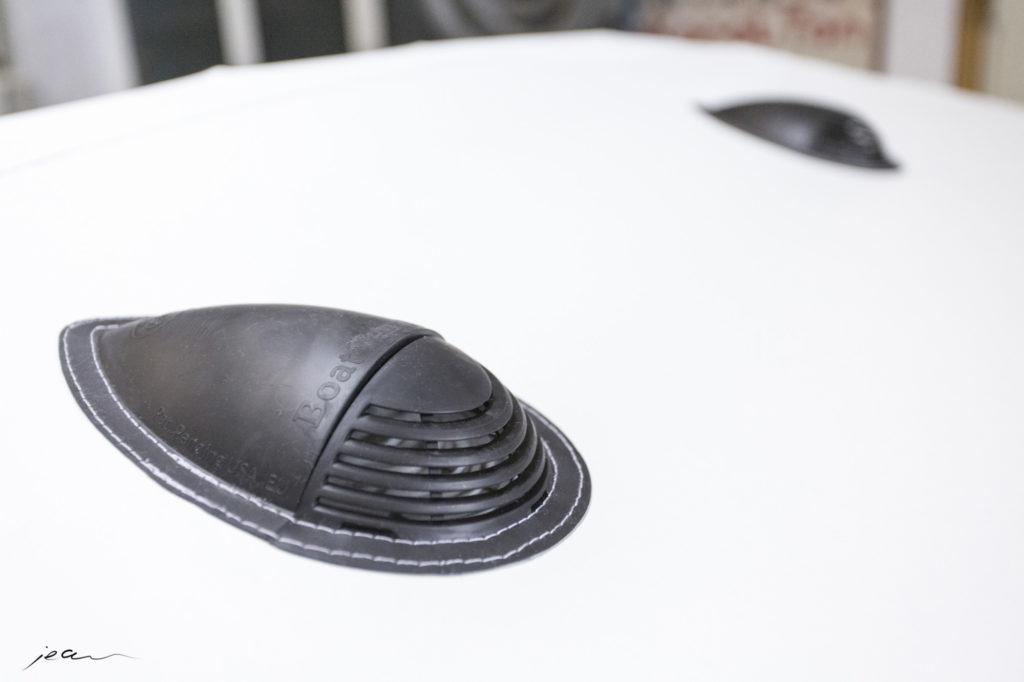 angefertigte Bootsplane mit Zubehör von Black Sails