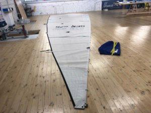 Segel vom Segelmacher für eine X-Yacht von Black Sails