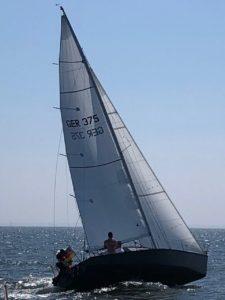 X79 beim Segeln auf der Ostsee