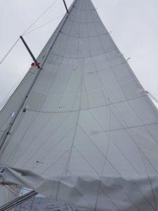 Großsegel für eine Hanse 370 aus der Segelmacherei Black Sails
